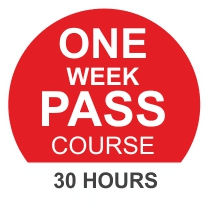 One Week Pass course